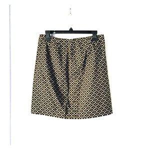 Ann Taylor Floral Printed Skirt Sz 8P